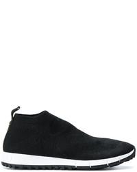 Zapatillas de Cuero Negras de Jimmy Choo
