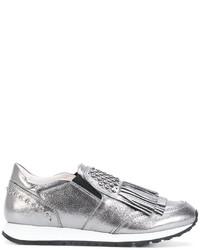 5ddd9ff5 Comprar unas zapatillas plateadas Tod's | Moda para Mujeres ...