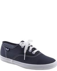 Zapatillas de lona azul marino de Keds