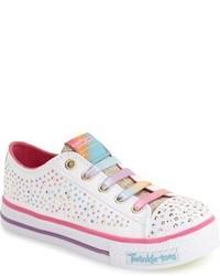 Zapatillas de lona blancas de Skechers