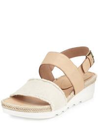 Zapatillas de lona en beige de Eileen Fisher