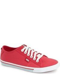 Zapatillas de lona rosa de Helly Hansen