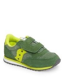 Zapatillas en amarillo verdoso de Saucony