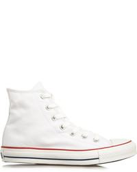 Zapatillas en blanco y rojo y azul marino