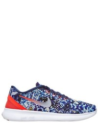 Zapatillas estampadas azul marino de Nike