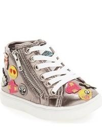 Zapatillas grises de Steve Madden