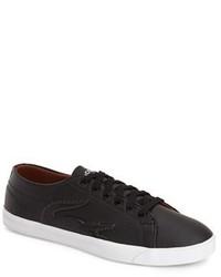 Zapatillas negras de Lacoste