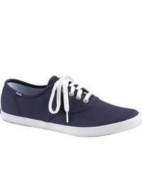 Zapatillas plimsoll azul marino