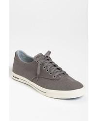 Zapatillas plimsoll en gris oscuro