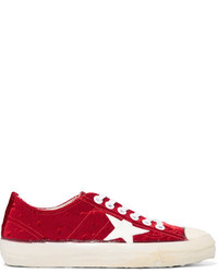 Zapatillas rojas de Golden Goose Deluxe Brand