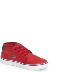 Zapatillas rojas de Lacoste