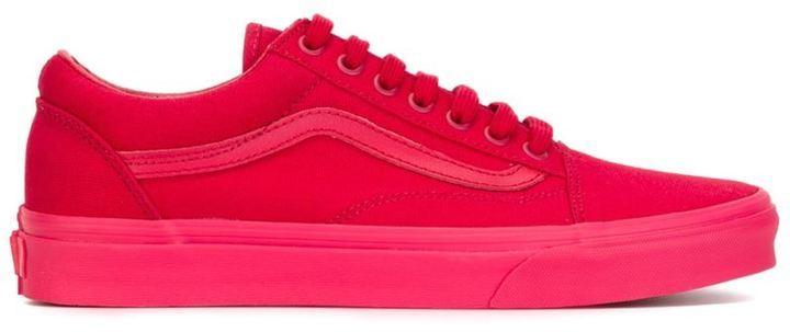 vans zapatillas rojas