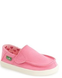 Zapatillas rosadas de Sanuk