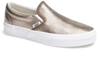 zapatillas vans doradas