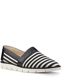 Zapatillas Slip-on de Cuero Negras de Nine West