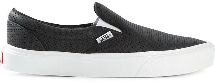 zapatillas vans negras de chica