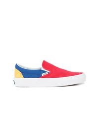 Zapatillas slip-on de lona en multicolor de Vans