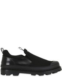 Zapatillas slip-on de lona negras
