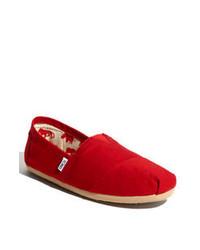 Hombres Unos Lookastic Zapatos Comprar TomsModa Para Rojos vm8nwOyN0