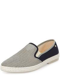 Zapatillas slip-on grises de Rivieras