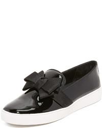 Zapatillas slip-on negras de Michael Kors