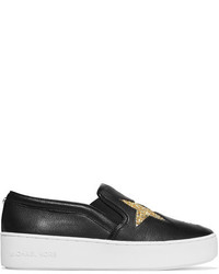 Zapatillas slip-on negras de MICHAEL Michael Kors