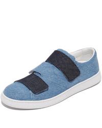 Zapatillas vaqueras azules de Acne Studios