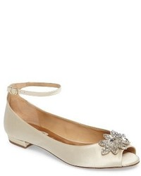 Zapatos bajos blancos