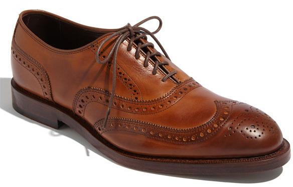 zapatos Brogue de Allen Cuero Marrónes de Allen de Edmonds: dónde comprar y 877eec