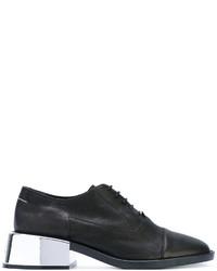 Zapatos con cordones negros de MM6 MAISON MARGIELA