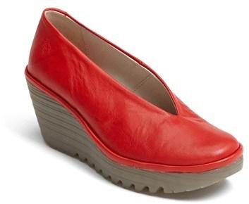 Zapatos rojos Fly London para mujer 6EhpY