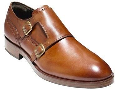 Haan220 Hebilla De Cuero Con Cole Doble Zapatos Tabaco En MzpVqUS