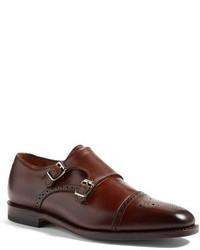 Zapatos con Doble Hebilla de Cuero Marrónes de Allen Edmonds