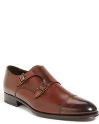 Zapatos con Doble Hebilla de Cuero Marrónes de To Boot