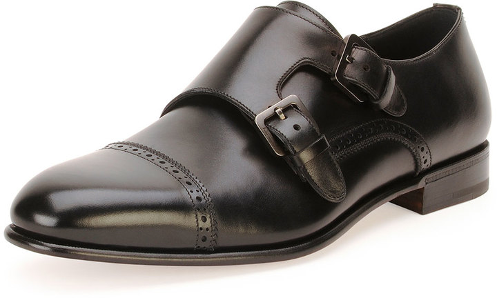 Zapatos negros Ferragamo para hombre wAuPqXTN