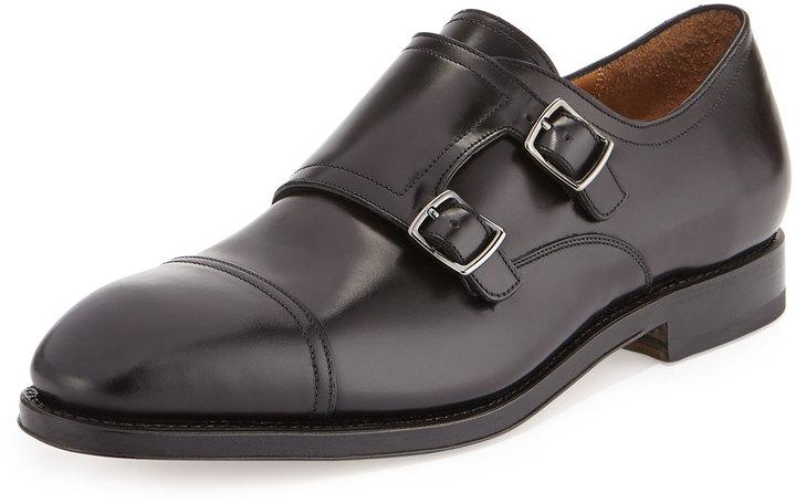 Zapatos negros Ferragamo para hombre WujgTy