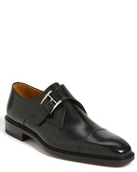 Zapatos con hebilla de cuero negros