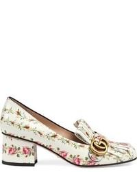 Zapatos de Tacón Blancos de Gucci
