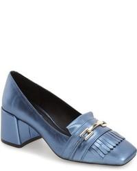 Zapatos de tacón celestes de Topshop