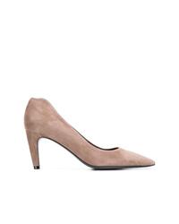 Zapatos de tacón de ante grises de Kennel + Schmenger