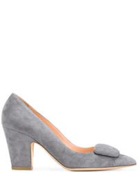 Zapatos de tacón de ante grises de Rupert Sanderson