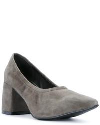 Zapatos de tacón de ante grises de Senso