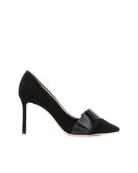 Zapatos de tacón de ante negros de Jimmy Choo