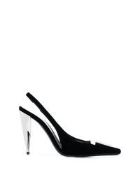 Zapatos de tacón de ante negros de Tom Ford
