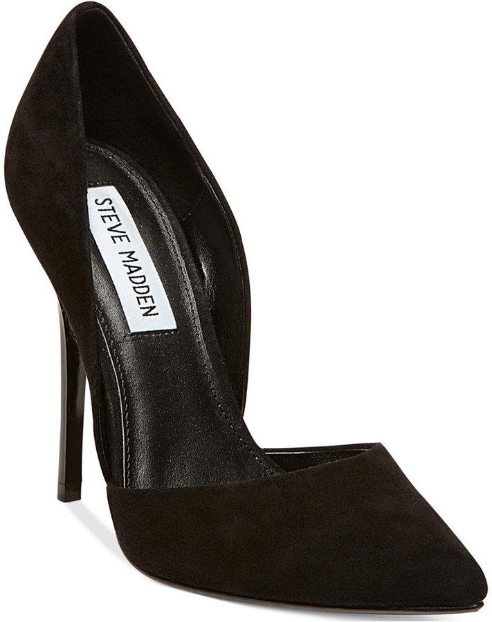 Zapatos negros Steve Madden para mujer WtvMoSQMlD