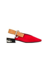 Zapatos de tacón de ante rojos de Toga Pulla
