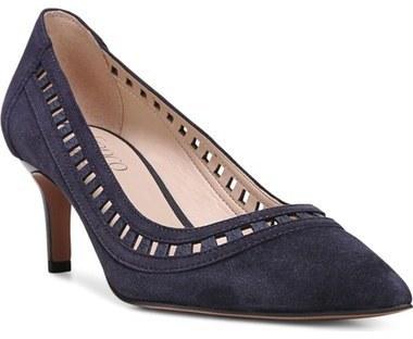Zapatos de Tacón de Ante Violeta de Franco Sarto  dónde comprar y ... 09e26c7035a6