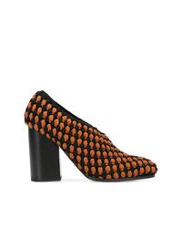 Zapatos de tacón de crochet negros de Proenza Schouler