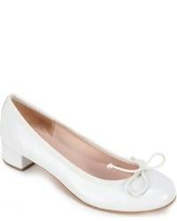 Zapatos de Tacón de Cuero Blancos de Summit