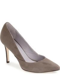 Zapatos de Tacón de Cuero Grises de Johnston & Murphy